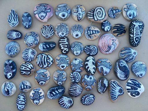 Piedras marinas